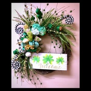 Whimsical St. Paddy's Day Wreath